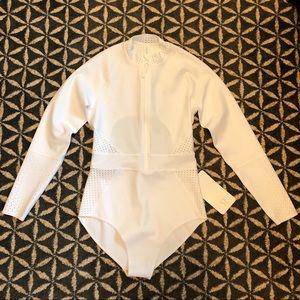 Lululemon White Coastal Paddle Suit - NWT - Size 8